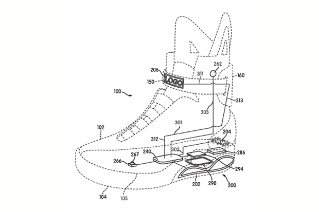 nike air mag marty mcfly patent 1 Nike Air Mag Marty McFly Patent News