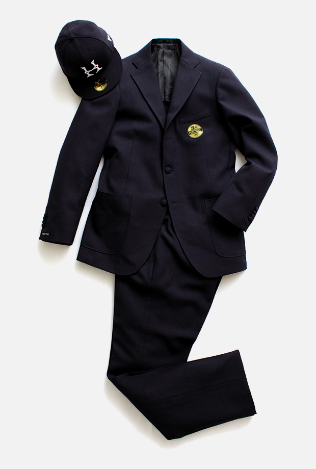 realmad hectic era ring jacket suit