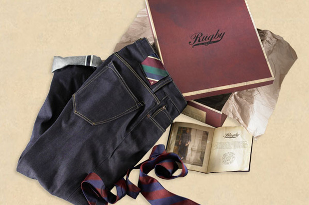 rugby ralph lauren limited edition selvedge denim box set
