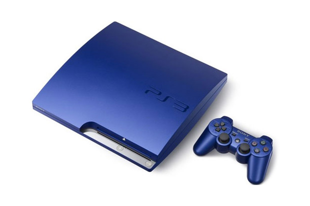 sony playstation 3 titanium blue gran turismo 5 racing pack