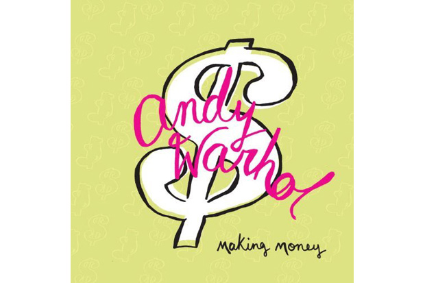 andy warhol making money book