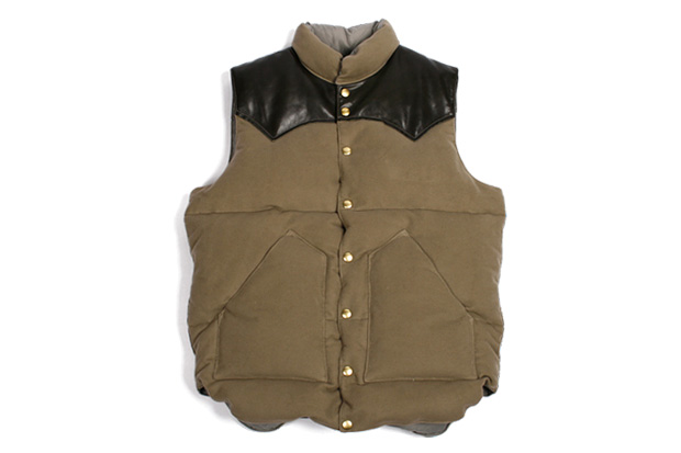 beauty youth x rocky mountain featherbed down vest