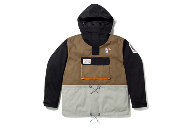 billionaire boys club pull over parka Billionaire Boys Club Pull Over Twill Parka
