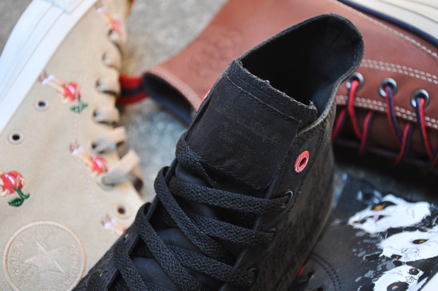 converse paint the town red collection