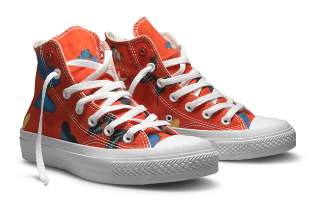 Converse announces the Damien Hirst for Converse (PRODUCT)RED Chuck Taylor  All Star shoe. Launching November 5th, 2010 in Europe and the UK and on  World ...