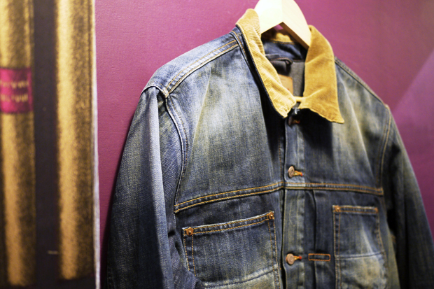 edwin panhead denim jacket