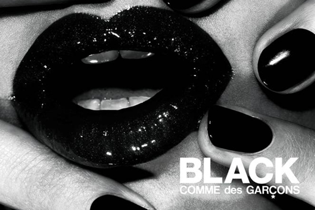 fashions night out 2010 new york black comme des garcons