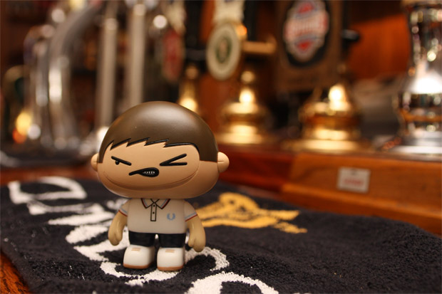 fred perry x offspring toy