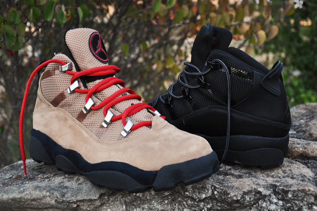c4b506719cf9d2 Jordan Brand continues their Winterized designs with a couple of new  colorways in the outdoors-inspired Winterized 6 Rings