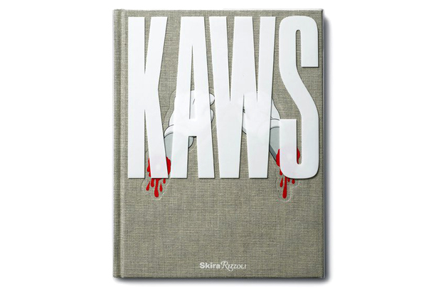 kaws book signing passing through exhibition