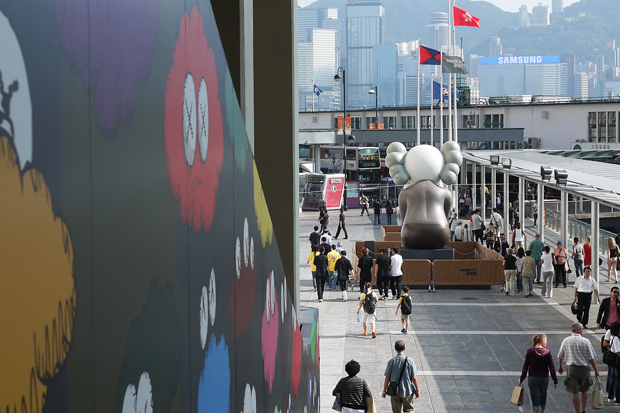 kaws passing through exhibition further look