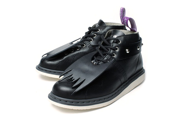 milk boy bat wings dr martens custom boot