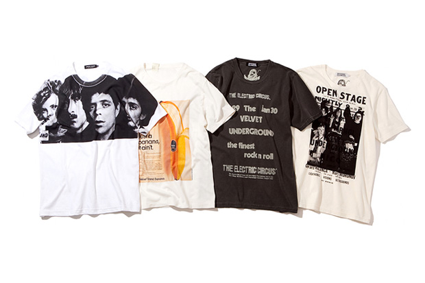 the new york art of the velvet underground t shirt collection