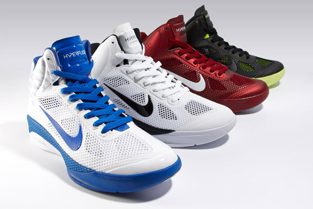 nike zoom hyperfuse 2010 fallwinter collection