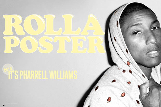 rollacoaster issue one 1 ROLLACOASTER Issue No. 1 featuring  Pharrell Williams