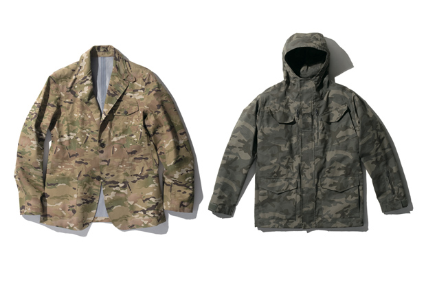 sophnet 2010 fallwinter camouflage collection