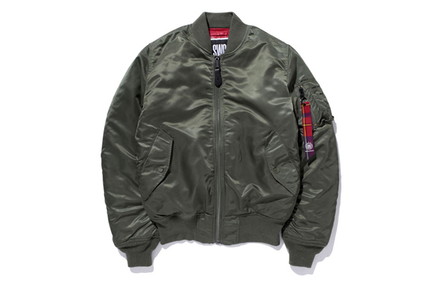 swagger x alpha industries ma 1 jacket