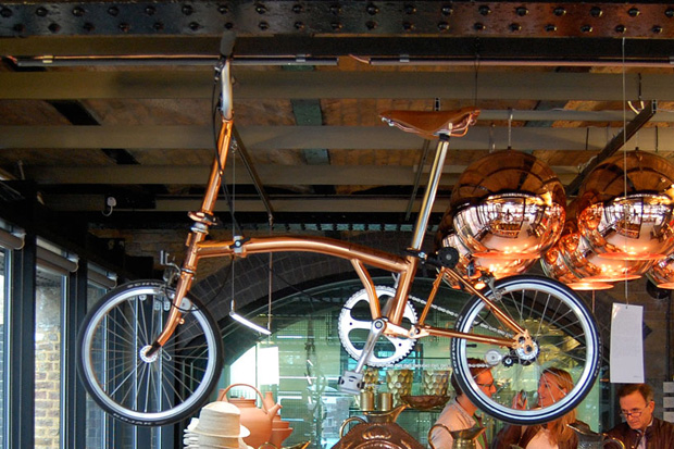 tom dixon x brompton bicycle