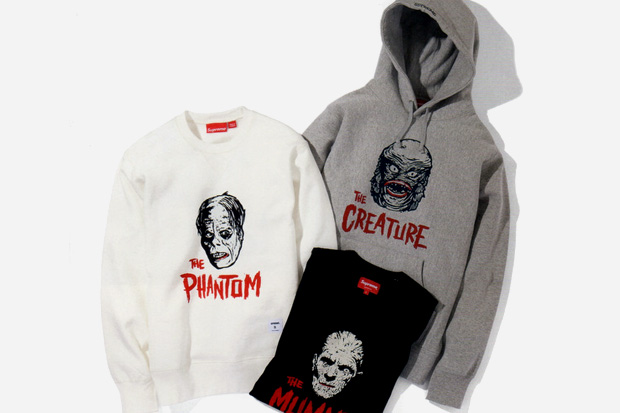 supreme x universal studios universal monsters collection