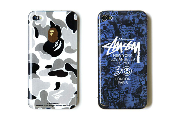zozotown design project vol 2 bape and stussy iphone 4 cases
