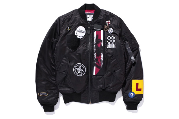 swagger alpha industries ma 1 jacket