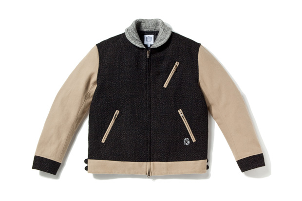 billionaire boys club wool 50s jacket