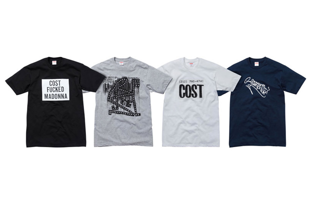 Graffiti artist Cost teamed up with Supreme to come up with some decent...