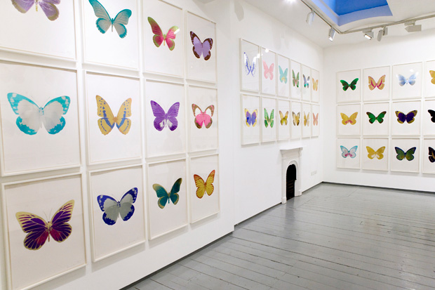 the souls exhibition by damien hirst