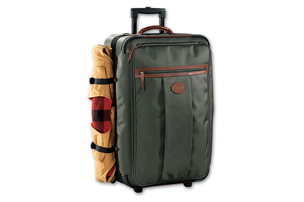 filson passage rolling check in bag