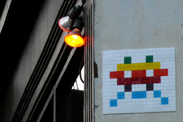 invader home sweet home exhibition
