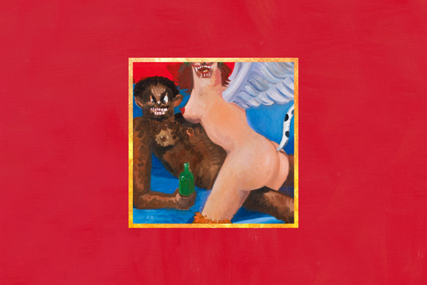 "for Kanye West's upcoming ""My Beautiful Dark Twisted Fantasy"" album,"