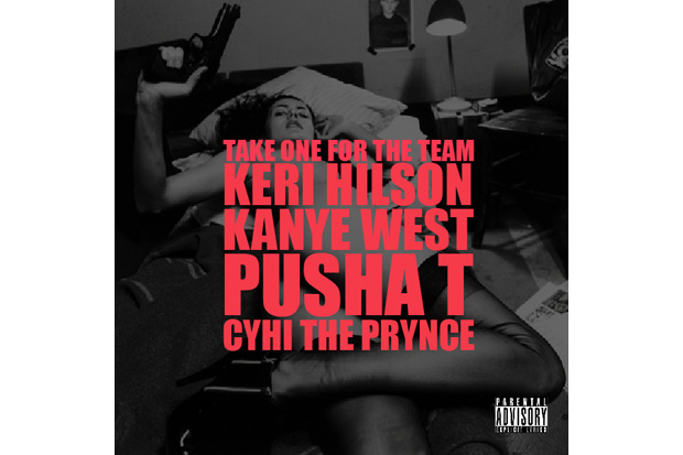 kanye west featuring keri hilson pusha t cyhi da prince take one for the team