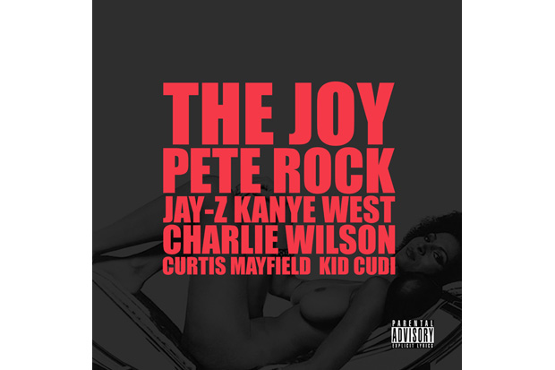 kanye west featuring pete rock jay z charlie wilson curtis mayfield kid cudi the joy