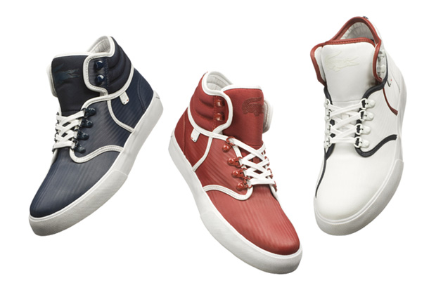 lacoste blu blanc rouge collection
