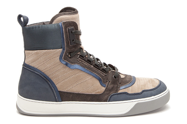 lanvin hi top sneakers Lanvin Hi Top Sneakers