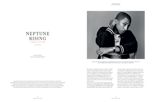 man about town 2010 fallwinter issue feat pharrell williams 2 Man About Town 2010 Fall/Winter Issue feat. Pharrell Williams