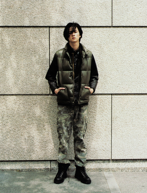 mens non no 2010 fallwinter sophnet uniform experiment editorial