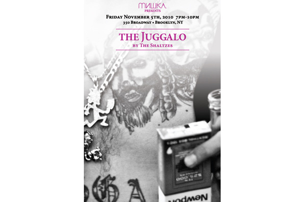 mishka presents the juggalo by the shaltzes exhibition