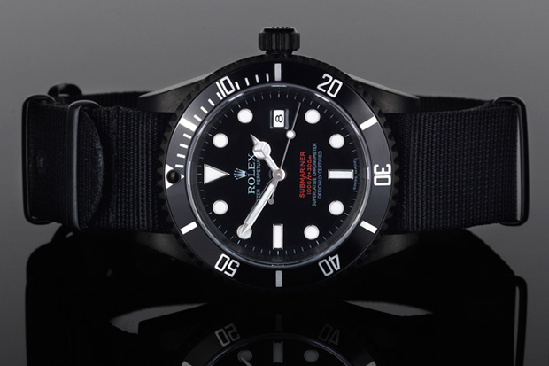 project x designs custom double red rolex submariner