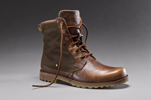 rockport x barbour 2010 fallwinter footwear collection
