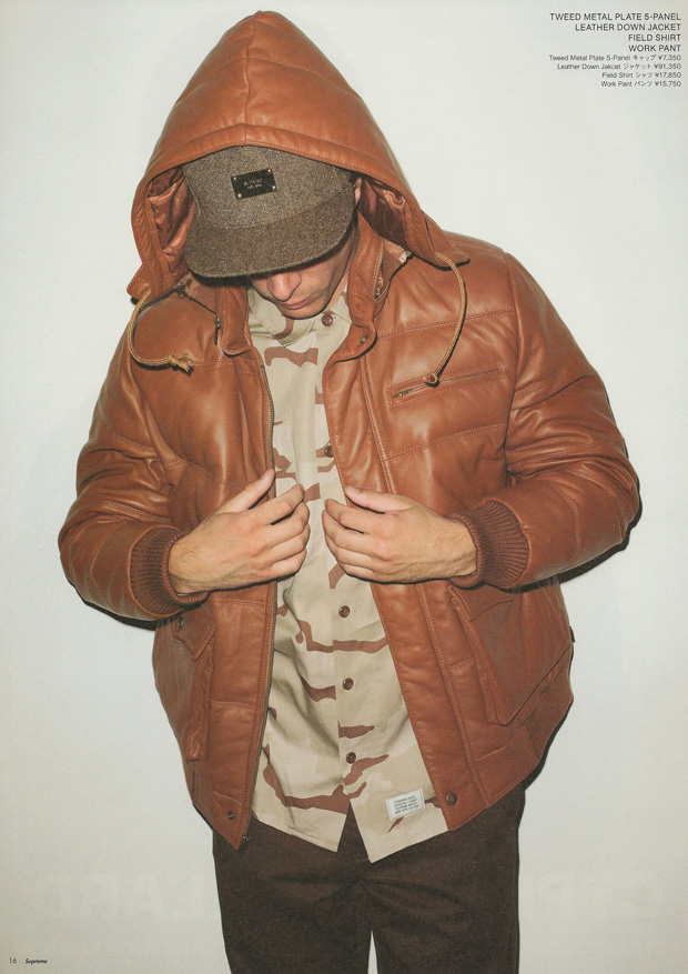 supreme 2010 fallwinter collection lookbook by terry richardson
