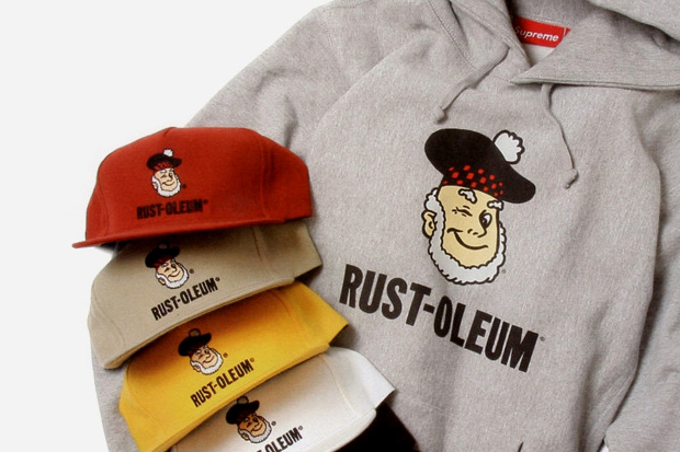 supreme x rust oleum collection preview