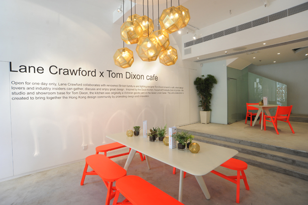 tom dixon industry collection and pop up cafe lane crawford