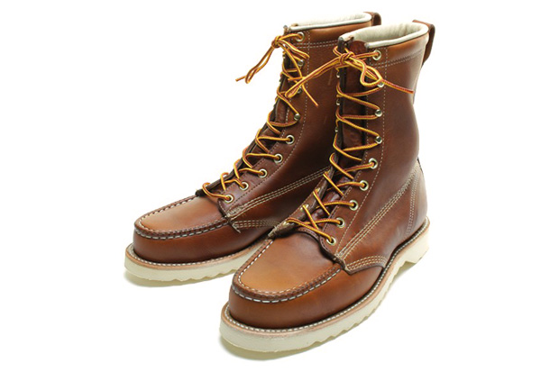 beams plus 8hole leather boot