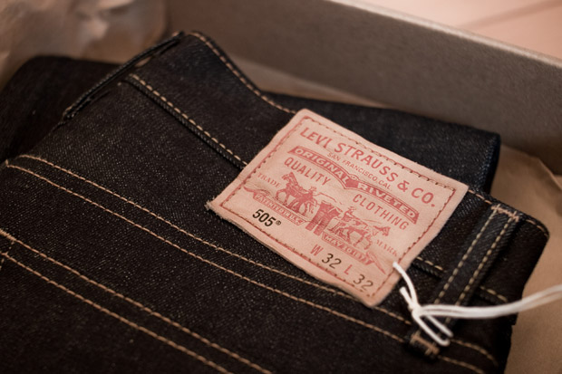 cone mills x levis 505 limited edition jean