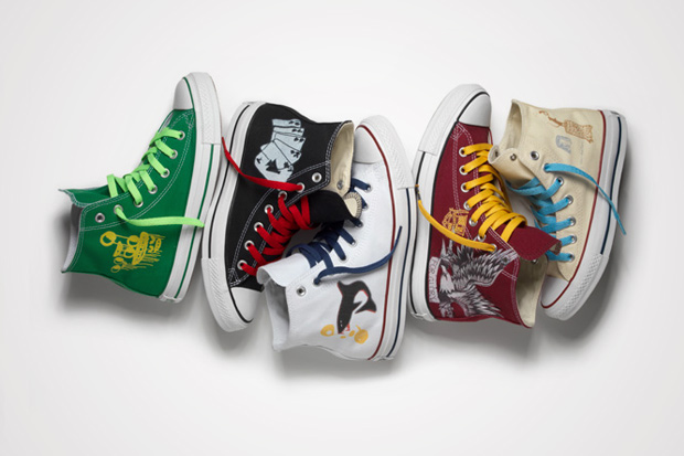 "CONVERSE Chuck Taylor x OFFSPRING in SELFRIDGES ""Get Your Converse Stuff Inked"""