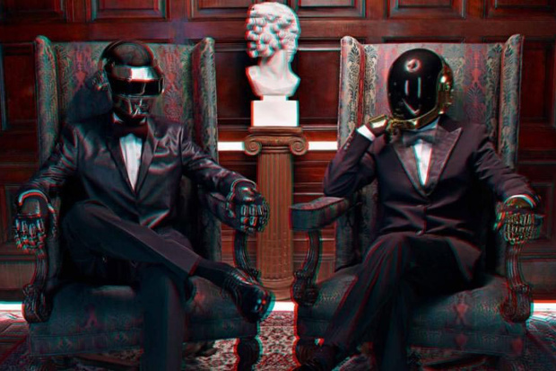 daft punk in 3d by dazed and confused