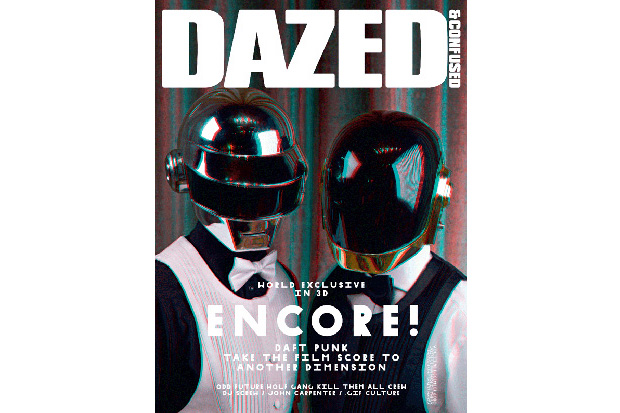 dazed confused encore issue featuring daft punk