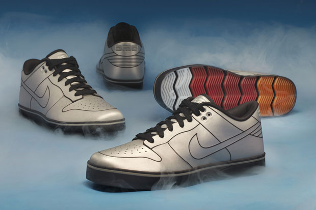 dmc x nike 6 0 delorean dunk