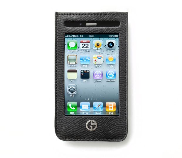 giorgio armani x softbank apple iphone ipad cases